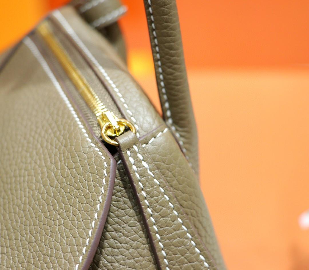 Hermès(爱马仕)Lindy 26cm 大象灰 Togo 全手缝 小牛皮 金扣
