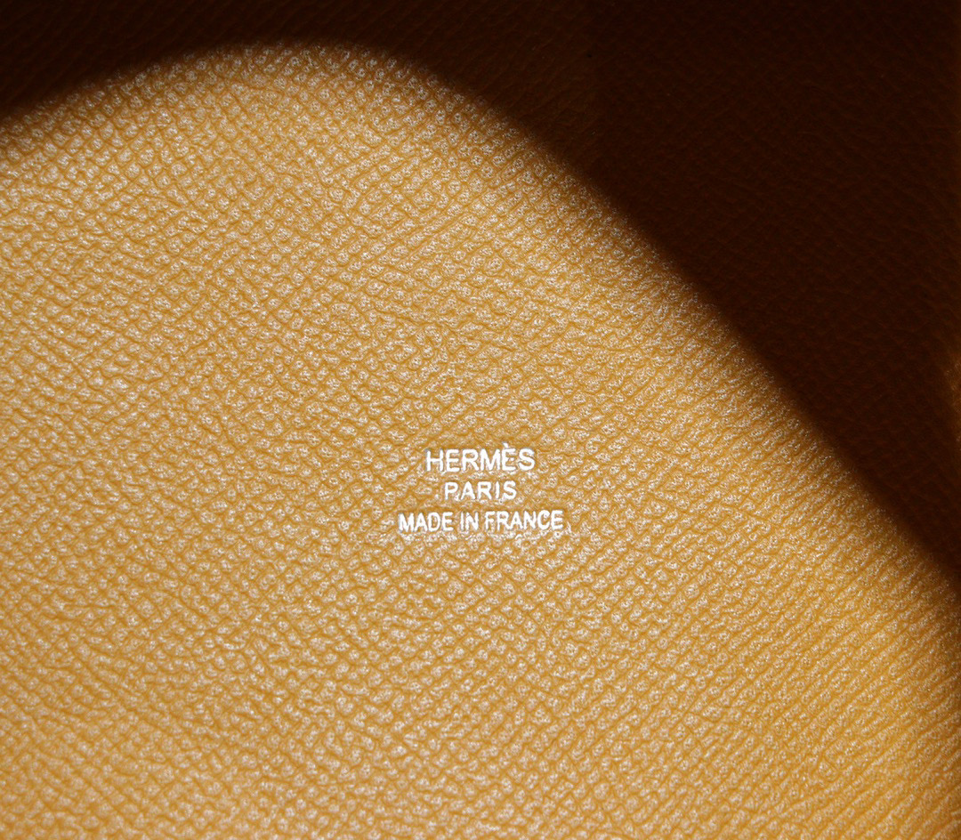Hermes Picotin 18CM 菜篮子金棕(编织手柄)Epsom 银扣全手缝