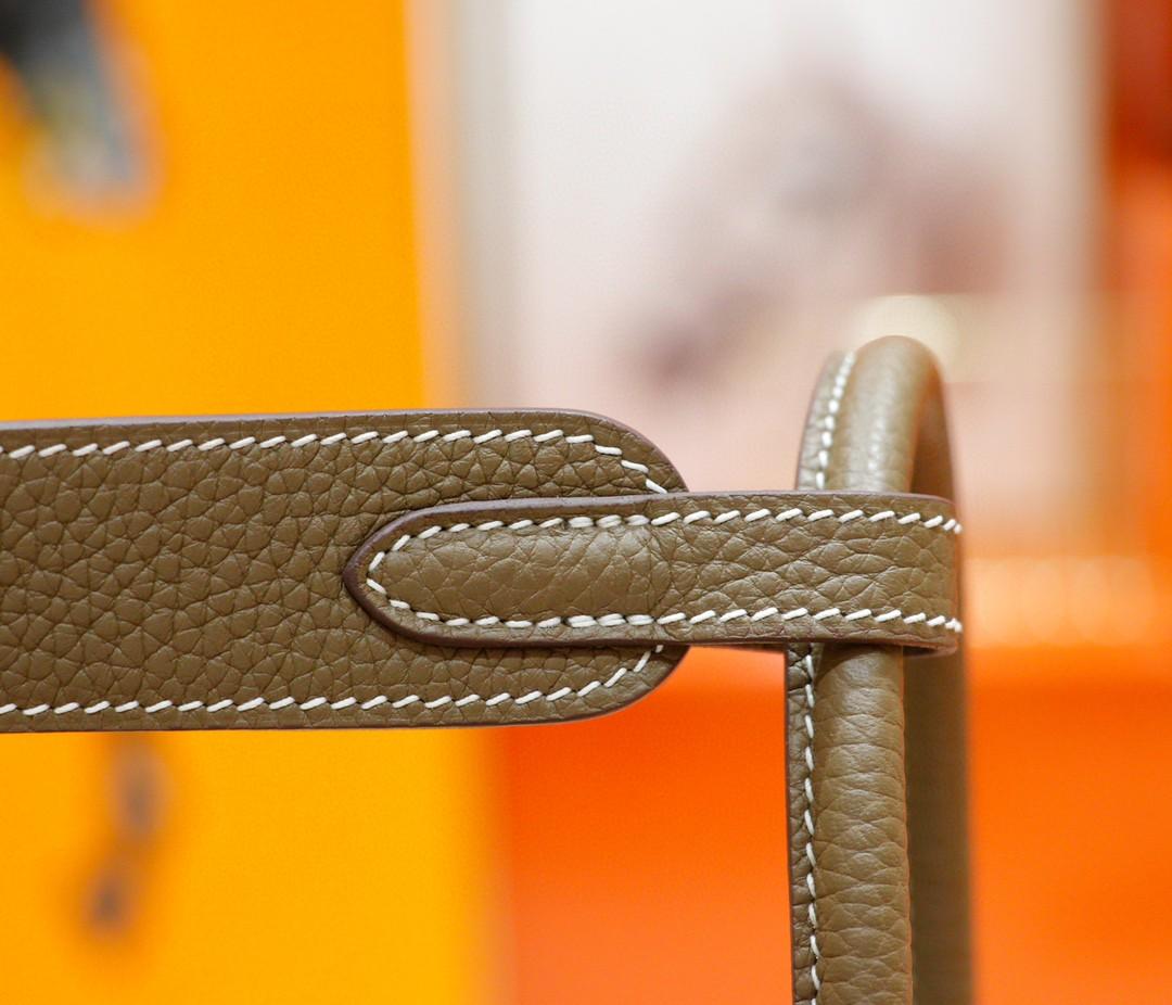Hermès(爱马仕)Lindy 琳迪包 大象灰 Togo 全手缝 银扣 30cm