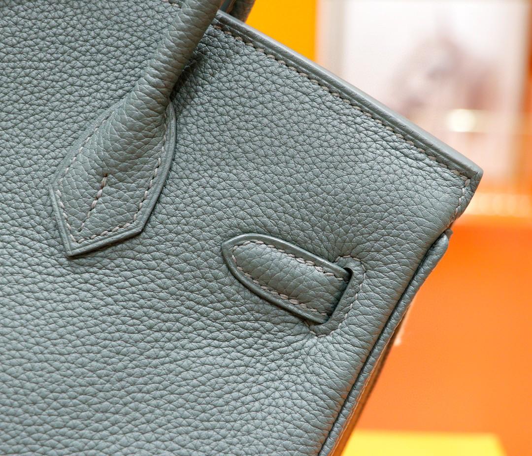 Hermès(爱马仕)Birkin 铂金包 杏仁绿 Togo 全手缝 金扣 25cm