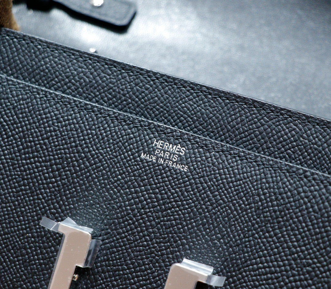 Hermès(爱马仕)Constance ToGo 黑色 Epsom 全手缝 银扣